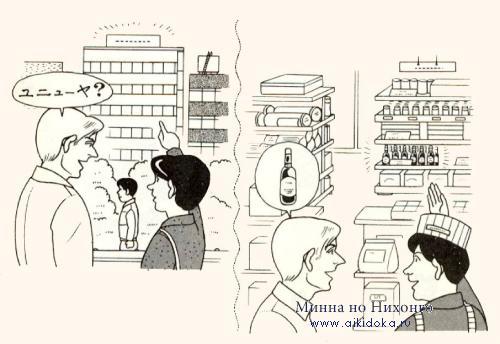 Диалог на японском языке; Урок 10